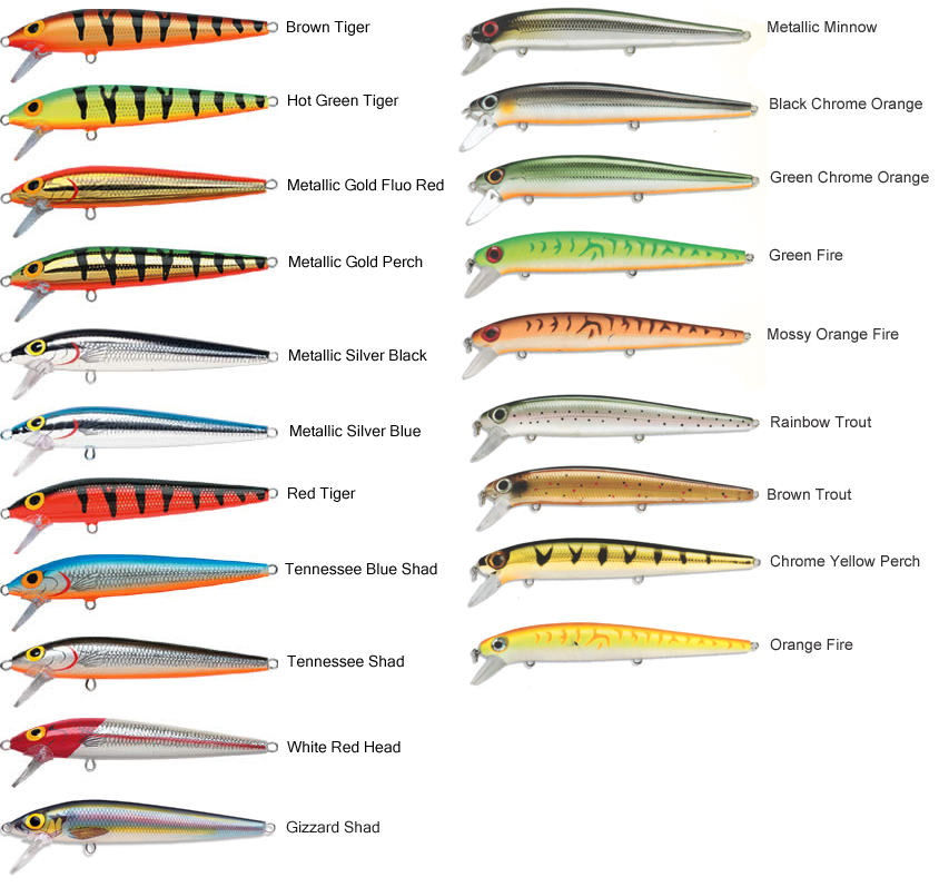 Storm Lures Color Chart Rebellions