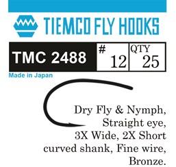 Tiemco TMC 2488 Shrimp & Caddis pupa