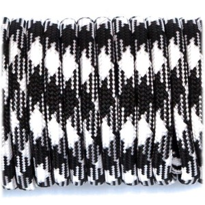 Shock Cord 3,6 mm - Black White