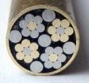 Mosaikpin Edelweiss 7,0 mm
