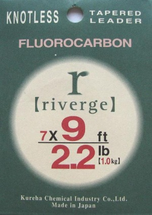 Riverge Fluorocarbon Taperade Tafsar 9ft
