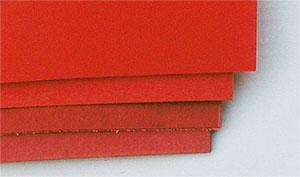 Vulkanfiber röd 6,0 mm