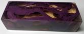 Akryl block Purple / Clear