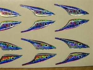 FisHeadz Sand eels Blue