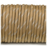 Paracord 550 - Reflective Coyote Brown