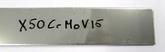 X50CrMoV15 3,0x40x600 mm