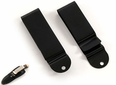 Belt clip Model 1 - Svart - Large