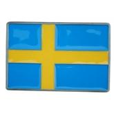 Bältesspänne Svensk flagga