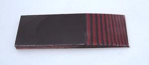 Micarta Röd/svart