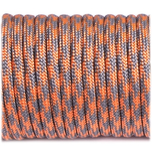 Paracord 550 - Grey Orange Quarter