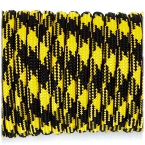 Paracord 550 - Black Yellow Camo