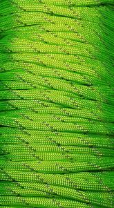 Paracord Reflective Green