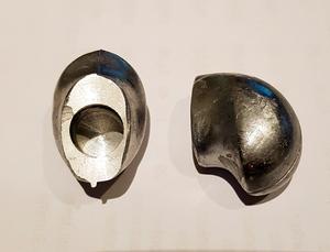 Bakre beslag - aluminum
