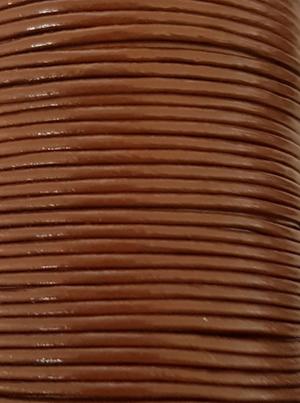 Läderrem rund 1 mm