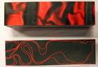 Kirinite block svart/röd 31x33
