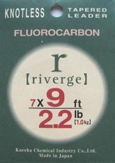 Riverge Fluorocarbon Taperade Tafsar 9ft